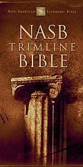 Bible Nasb Black Trimline