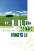 Bible in 90 Days-NIV-Thinline Large Print