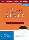 Bible Niv Thinline Reference Large Print