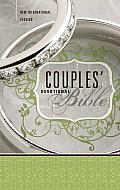 Couples' Devotional Bible-NIV