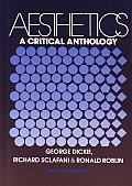 Aesthetics A Critical Anthology 2nd Edition
