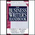 Business Writers Handbook 4th Edition