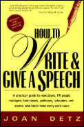 How To Write & Give A Speech A Practical
