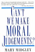 Can't We Make Moral Judgements? (93 Edition)