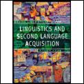 Linguistics & Second Language Acquisition