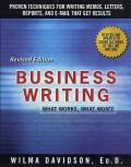 Business Writing : What Works, What Won't (Rev 01 Edition)