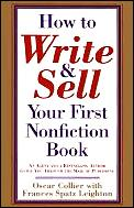 How To Write & Sell Your First Nonfictio