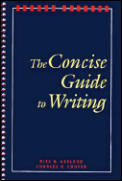 Concise Guide To Writing