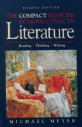 Compact Bedford Introduction to Literature Reading Thinking Writing 8th Edition