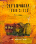 Contemporary Linguistics An Introduction 3rd Edition