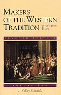 Makers of the Western Tradition Portraits from History Volume Two