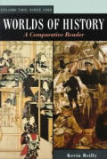 Worlds Of History A Comparative Rea Volume 2
