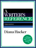 Writers Reference 3rd Edition