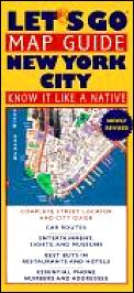 Lets Go Map Guide New York City 2nd Edition