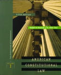 American Constitutional Law Volume 1 5th Edition