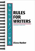 Rules For Writers A Brief Handbook 4th Edition