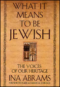 What It Means to Be Jewish
