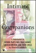 Intimate Companions Lynes