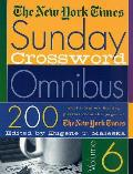 New York Times Sunday Crossword Omnibus Volume 6 Cover