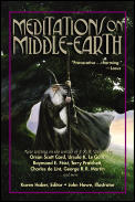 Meditations On Middle-earth : New Writing On The Worlds Of J. R. R. Tolkien By Orson Scott Card, Ursula K. Le... by Karen Haber (ed.) / Howe, John