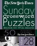 New York Times Sunday Crossword Puzzles #28: The New York Times Sunday Crossword Puzzles Cover