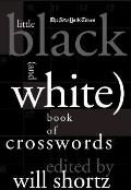 The New York Times Little Black (and White) Book of Crosswords Cover