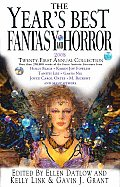 The Year's Best Fantasy and Horror: 21st Annual Collection (Year's Best Fantasy & Horror) Cover