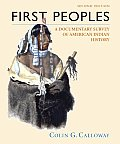 First Peoples: A Documentary Survey of American Indian History Cover