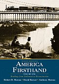 America Firsthand Volume 1 6th Edition