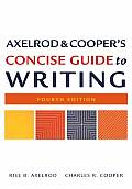 Axelrod & Coopers Concise Guide To Writing 4th Edition