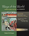 Ways of the World : Brief Global History - Volume 2 (11 - Old Edition)