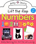 Play and Learn: Lift the Flap Numbers: Easy Learning Fun, for the Very Young Cover
