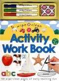 Wipe Clean Activity Work Book with Pens/Pencils and Eraser (Wipe Clean) Cover