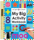 My Big Activity Work Book with Pens/Pencils (Wipe Clean)