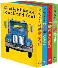 Bright Baby Touch and Feel: Words/Colors/Numbers/Shapes