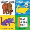 Brown Bear, Brown Bear, What Do You See? Slide and Find (World of Eric Carle) Cover