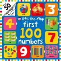 First 100 Numbers Lift-The-Flap (Bright Baby)