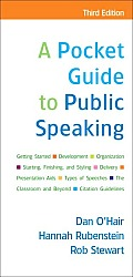 Pocket Guide to Public Speaking 3rd Edition