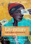 Literature: Human Experience: Reading and Writing (10TH 10 - Old Edition) Cover