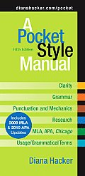 A Pocket Style Manual 5e with 2009 MLA Update Cover