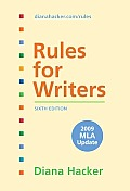 Rules For Writers 6th edition With Tabs 6th edition