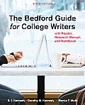 Bedford Guide for College Writers 9th Edition