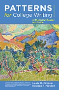 Patterns for College Writing 12th Edition A Rhetorical Reader & Guide