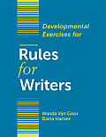 Rules for Writers - Develope Exercises (7TH 12 Edition) Cover