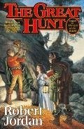Wheel of Time #2: The Great Hunt Cover