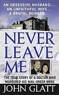 Never Leave Me An Obsessive Husband an Unfaithful Wife a Brutal Murder