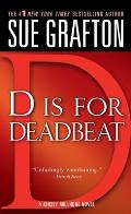 D Is for Deadbeat (Kinsey Millhone Mysteries) Cover