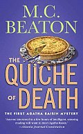 The Quiche of Death (Agatha Raisin Mysteries) Cover