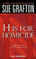 H Is for Homicide (Kinsey Millhone Mysteries) Cover