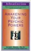 Awakening Your Psychic Powers